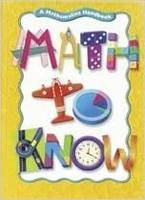 Image Math to Know Problem Solving Problem Solving Teacher's Guide Grade 4 2003