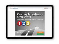 Image RMI Reading Milestones Interactive, Level 1-3