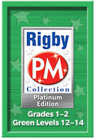 Image Rigby PM Platinum Collection Complete Package Green Levels 12-14