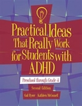 Image PITRW for Students with ADHD: Preschool Through Grade 4 Second Edition Manual