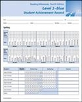 Image Reading Milestones Fourth Edition, Level 2 (Blue) Student Achievement Record(10)