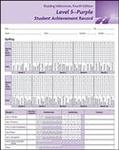Image Reading Milestones Fourth Edition, Level 5 (Purple) Student Achievement Record