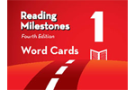 Image Reading Milestones Word Cards in a Box