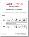 Image SAGES-2 K-3 Language Arts/Social Studies Student Response Booklets (10)