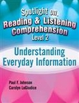 Image Spotlight on Reading & Listening Comprehension Level 2: Paraphrasing & Summarizi