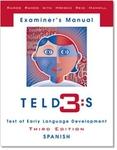 Image TELD-3:S: Test of Early Language Developmen Third Edition: Spanish