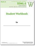 Image TEWL-3 Student Workbook Form A (pack of 10)