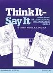 Image Think It-Say It: Improving Reasoning and Organization Skills