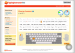 Typing Instructor Web | Online Curriculum