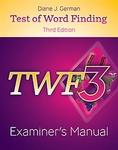 Image TWF 3 Examiner's Manual