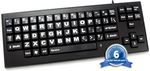 Image VisionBoard Large Key Keyboard - Black