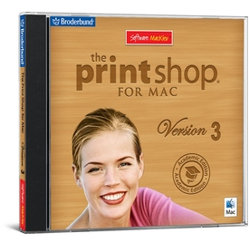The Print Shop 3  for Mac - Academic Edition